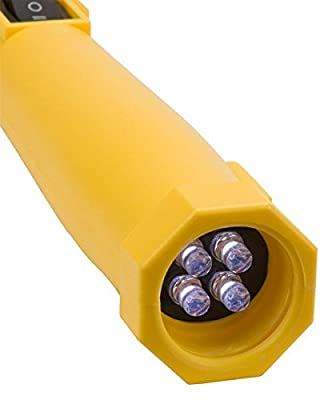 Bayco BAR-2134 2-In-1 Led Work Light with Spot Light - Rechargeable, Yellow