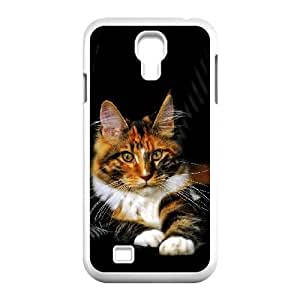 Mancoon Cat Samsung Galaxy s4 9500 White Cell Phone Case TAL857314 Cell Phone Case Active