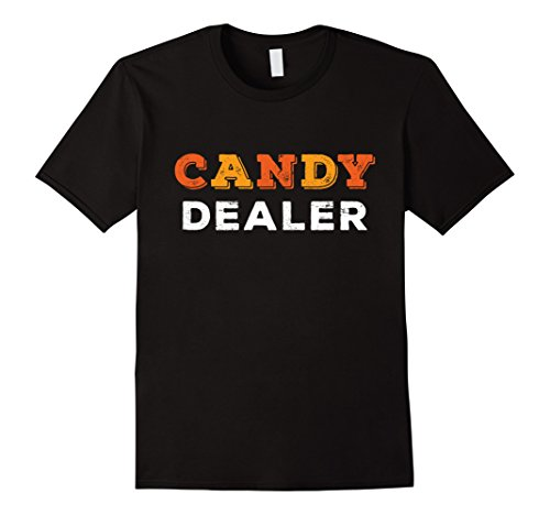 [Mens Candy Dealer T-Shirt Funny Halloween Candy Tee Medium Black] (Plus Size Women Halloween Costume Ideas)