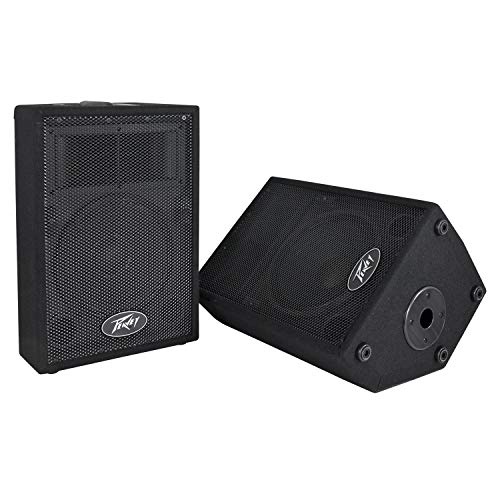 - Peavey DJ 2-Way 100 Watt PA Speaker System with 10