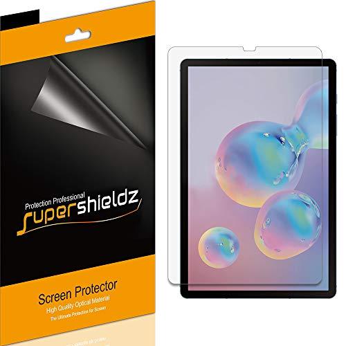 Supershieldz (3 Pack) for Samsung Galaxy Tab S6 (10.5 inch) Screen Protector, Anti Glare and Anti Fingerprint (Matte) Shield