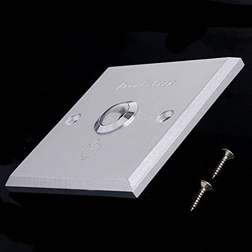 EverTrust(TM)Aluminum Door Exit Push Button Switch for Access Control by EverTrust (Image #1)