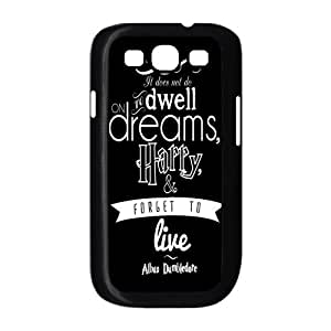 LeonardCustom Hard Slim Cover Case for Samsung Galaxy S3 SIII i9300, Harry Potter Inspirational Quotes -LCS3U141 by icecream design