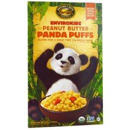 Nature's Path, EnviroKidz, Organic Peanut Butter Panda Puffs, 10.6 oz (300 g)(pack of - Cereal 10.6 Ounce