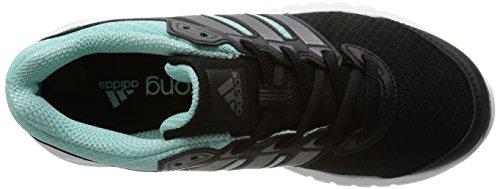 adidas Duramo 6, Chaussures de running femme Noir (Black 1/Carbon Met. S14/Frost Mint F14)