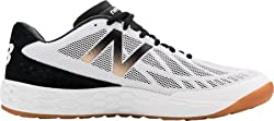 New Balance Men's Fresh Foam 80v3 Training Shoe, Black/White, 7.5 D US