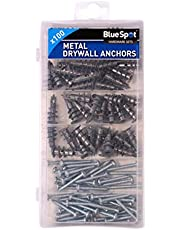 Blue Spot 40572 deurmat metaal droogbouw anker assortiment – zilver (100)