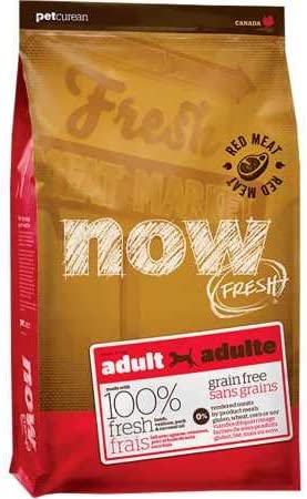 Petcurean Now Fresh Grain Free Red Meat Adult Recipe Dog Food – 25lb