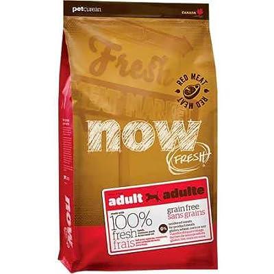Petcurean Now Fresh Grain Free Red Meat Adult Recipe Dog Food - 25lb
