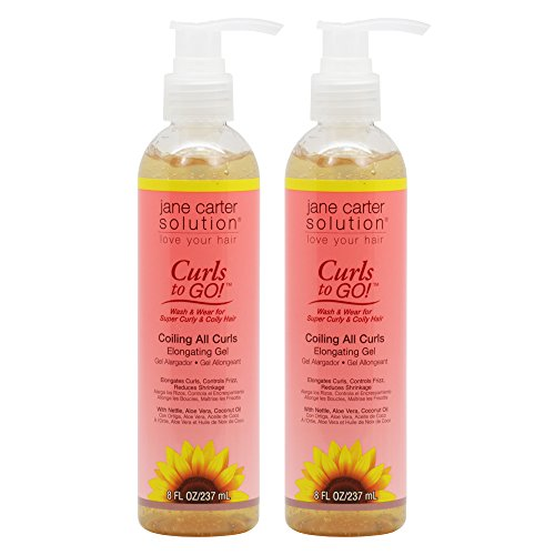 Jane Carter Curls to Go Coiling All Curls Elongating Gel 8oz / 237ml