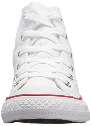 Converse Optical White Hi All Taylor Kids White Trainers Chuck Star Unisex zIvzrw