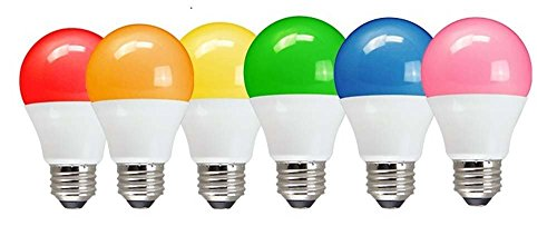 LOHAS Bug Light Bulb Yellow LED Bulbs, Outdoor Porch