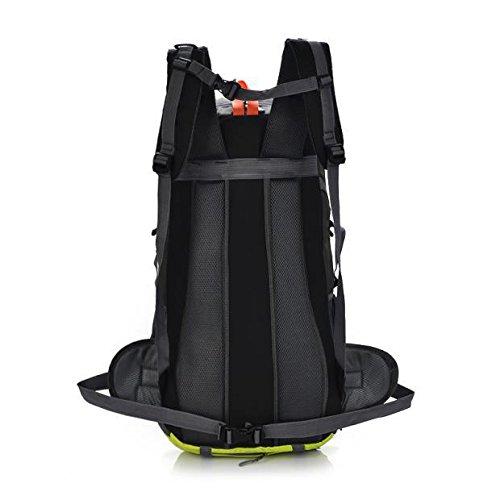 Klettern Outdoor Rucksäcke Taschen 50L Männer wandern Tourismus Rucksack wasserdicht Sk - 8623, rot