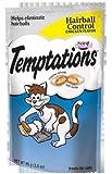 Whiskas Temptations Cat Treats Essentials Hairball Control Flavor 4 Bags Tartar Control Treats, My Pet Supplies