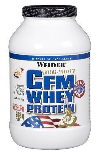 Weider Nutrition CFM Whey Protein Strawberry Powder 908g by Weider Nutrition by Weider