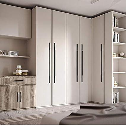 1pcs Morden Cabinet Handle Black/Gold Door Handle Drawer ...
