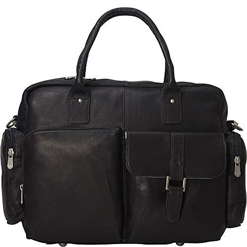 (Piel Modern Laptop Executive Briefcase (Black))