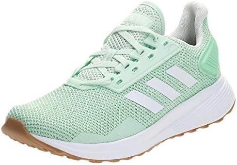 Adidas DURAMO 9, Women's Running Shoes, White (Clear Mint/Ftwr ...