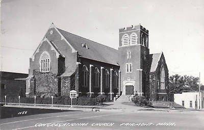 E2688 MN, Fairmont Cong. Church Photo Postcard