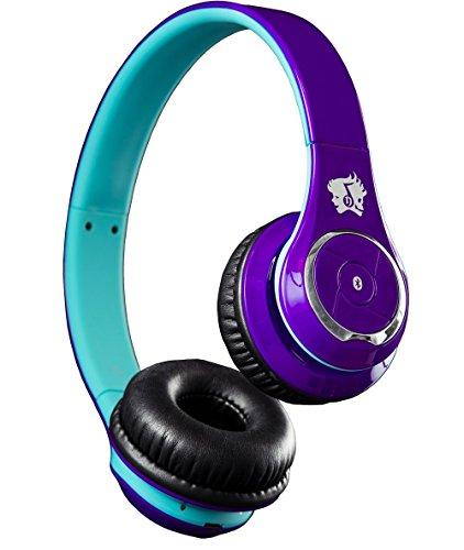 Life n Soul BN301-PBU Bluetooth Headphones, Purple & Blue