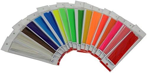 Lee Fung 3d pen filamento recargas Set de 12 colores recto Pla 1 ...