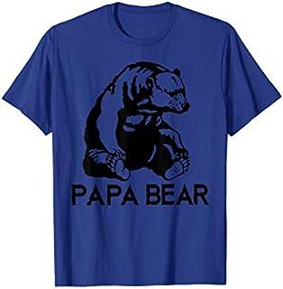 Cool Gift Papa Bear  Papa Bear  Papa Bear  Women Long Sleeve Funny Shirt / Navy / S - 5XL