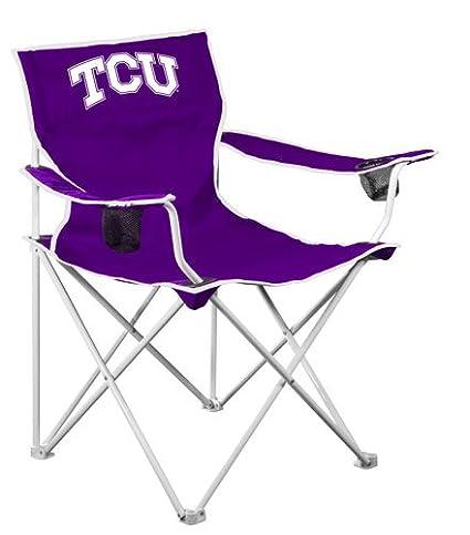 Amazon.com: NCAA TCU Horned Frogs Deluxe – Silla plegable ...