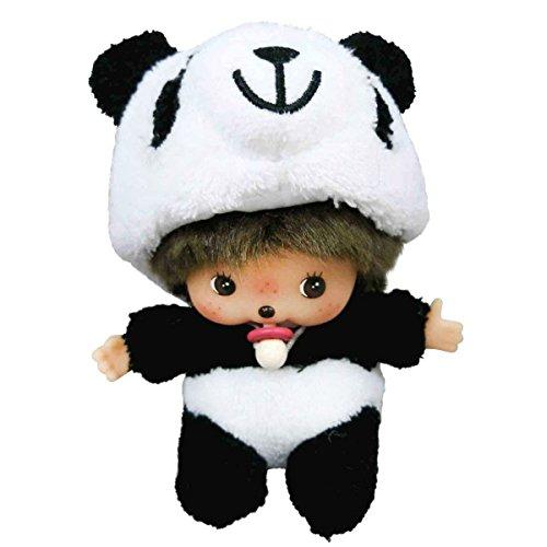 Monchhichi Plush (Sekiguchi Monchhichi Fluffy Animal Babicicci Plush Doll Panda)