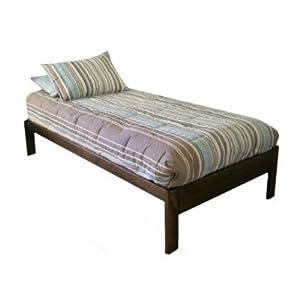 Amazon Com Santa Cruz Twin Xl Extra Long Bed Rustic