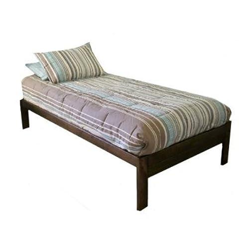 Rustic Wood Bed Frames: Amazon.com