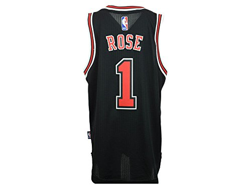Youth Chicago Bulls Derrick Rose Adidas Black Swingman Jersey (Large (14/16)) Bulls Derrick Rose Jersey