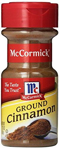 McCormick Ground Cinnamon, Sweet Spice, 2.37 oz (Pack of 6) ()