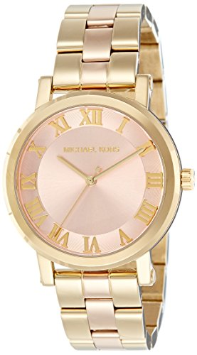 Michael Kors Women's Norie Gold-Tone Watch MK3586
