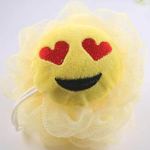 Kittmist Cartoon 1 PC Bath Flower Accessories Milk Ball Shower Bathroom Sponge Bath Supplies Loofah Soft Mesh Super