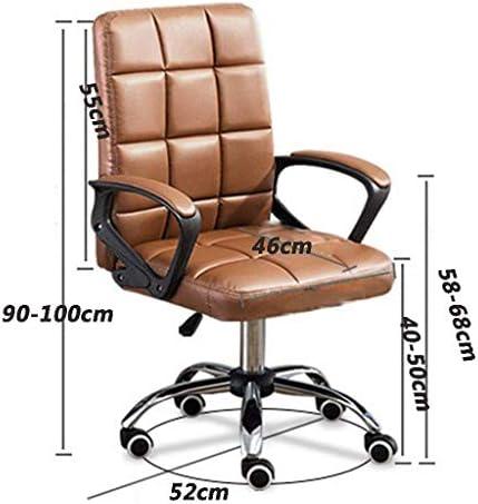 QNN Chaise de Bureau, Chaise de Bureau, Chaise de Bureau Avec Dossier Haut Et Hauteur Réglable, Pivotante, Ergonomique