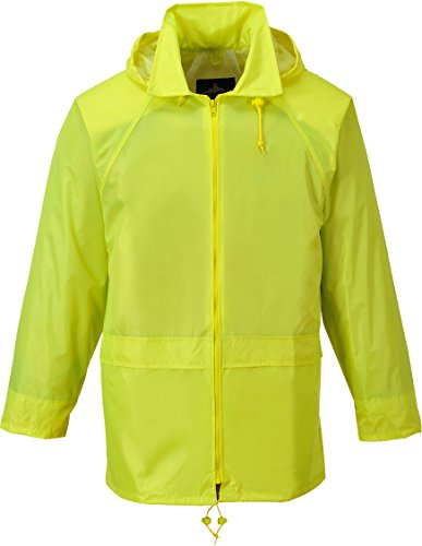 Portwest Mens Classic Rain Jacket (S440) (XXL) (Yellow)