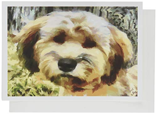 Soft-Coated Wheaten Terrier - Tipper - Blank Note Cards - Set of 6 with - Tipper Set