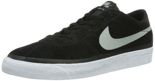 d4366111204a9 Nike Mens Bruin SB Premium Skate Shoes-Black White-9.5