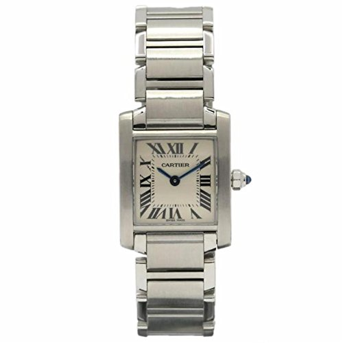 Cartier Tank Francaise analog-quartz womens Watch W51008Q3 (Certified Pre-owned)