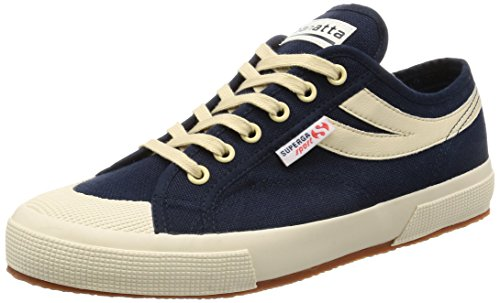 Superga navy 2750 cotu Blue Panatta Ecru rxrqOId