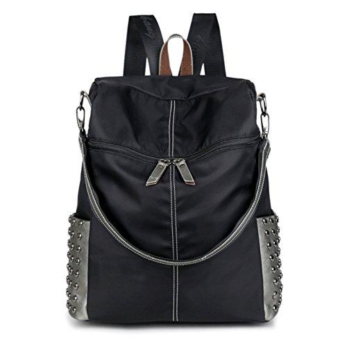 JOYSKY HB440098C1 New Style Nylon Leisure Women's Handbag,Vertical Section Square (Kathy Van Zeeland Back Zip Satchel)