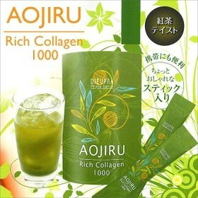 De~yufura Phyto Force green juice rich collagen 1000 4g * 30 follicles by De~yufura Phyto Force