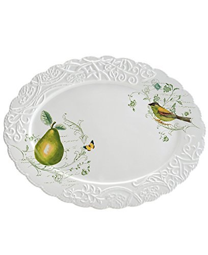 Mikasa Pear (Mikasa Antique Countryside Pear Oval Platter by Mikasa)