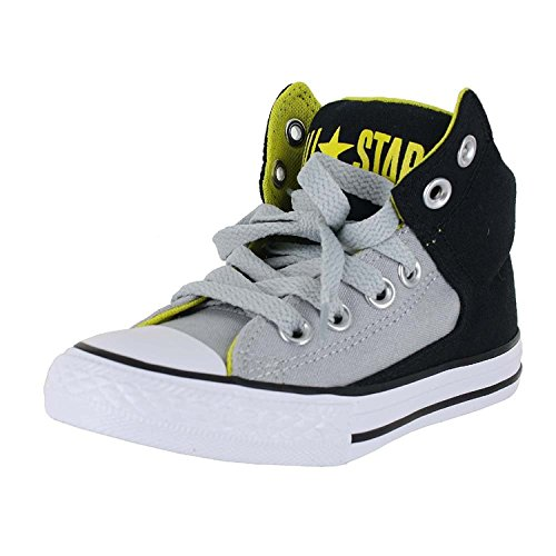 Converse Kinderen Chuck Taylor All-stars High Street Hi (klein Kind / Grote Jongen) Zwart Essen Grijs