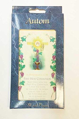 es First Holy Communion Plaque 6 inches ()