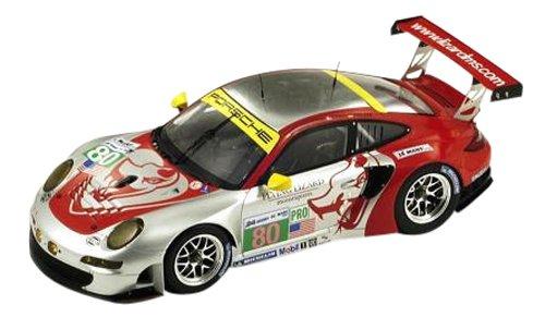 SPARK 1/18 Porsche 997 RSR Flying Lizard Motorsports 2012 24 Hours of Le Mans # 80 J. Bergmeister - M. Hozler - P. Long (japan import) ()