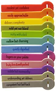 Fred WINE LINES Drink Markers, Reviews, Set of 12