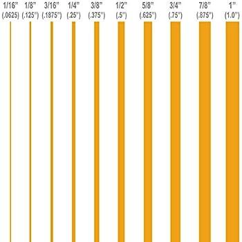 "1//8/"" 1//4/"" 3//8/"" 1//2/"" 5//8/"" 3//4/"" 7//8/"" 1/"" inch widths Pinstripes GOLDEN YELLOW"