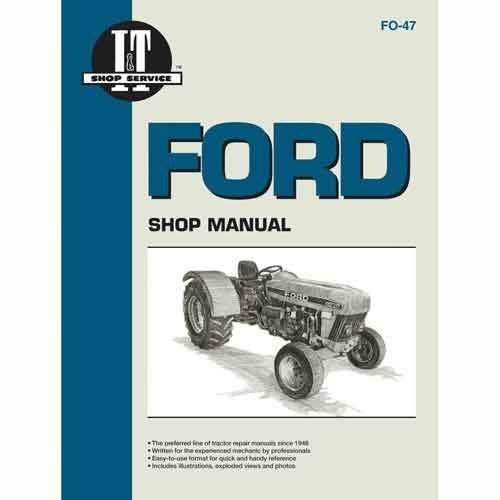Amazon All States Ag Parts It Shop Manual Ford 4630 3230 3430 3930 4830 Garden Outdoor: Ford 4830 Tractor Ignition Switch Wiring Diagram At Eklablog.co