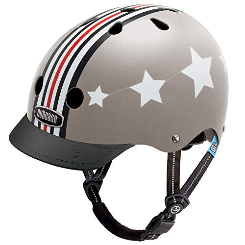 Nutcase - Patterned Street Bike Helmet for Adults, Fly Boy, Small